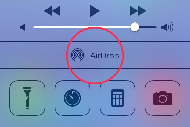 Risultati immagini per airdrop error iphone
