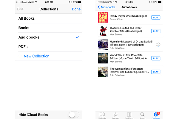 Listen to Audiobooks on iPhone